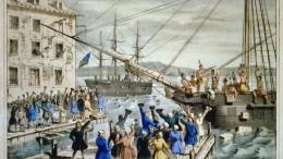 Frieden von Paris - Boston Tea Party