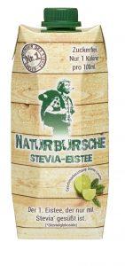 Naturbursche Stevia-Eistee Grüntee-Limette
