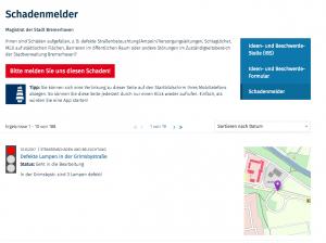 Schadenmelder – Bremerhaven de