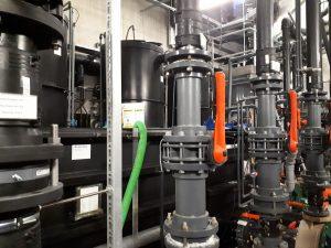 Filtertechnik im Klimahaus Bremerhaven