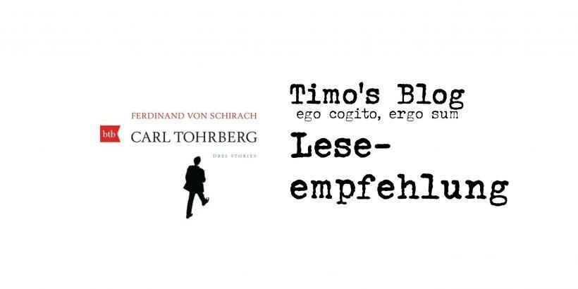 Ferdinand von Schirach | Carl Tohrberg