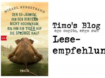 Mikael Bergstrand | Der Fünfzigjährige, der den Hintern nicht hochbekam, bis ihm ein Tiger auf die Sprünge half